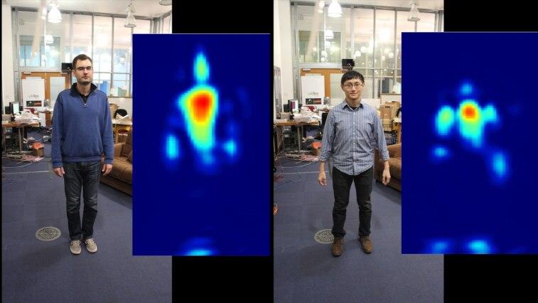 Новый алгоритм подсматривает за людьми за стеной через Wi-Fi