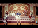 26.08.2013 Pops in Seoul AOA Black - MOYA + MV making