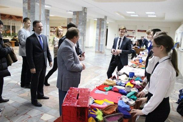 24 декабря в НХТИ состоялась встреча главы НМР со студентами. В рамках
