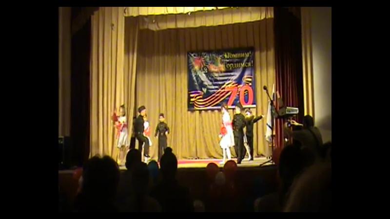 Алые закаты Очень красивый танец Сашуля выступает на концерте посвящённому Дню Победы