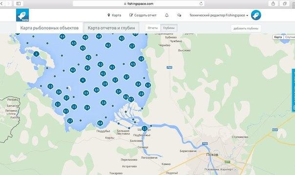 карта для рыбаков в екатеринбурге