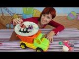 Готовим Суши - пластилин для детей - Play Doh (Play Dough) - Готовим вместе с Машей