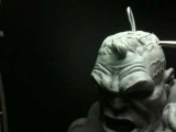 Sculpting The Incredible Hulk Bust - part 10 - Hair