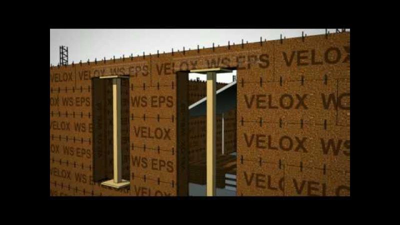 Несъемная опалубка VELOX (ВЕЛОКС). Инстукция строительства