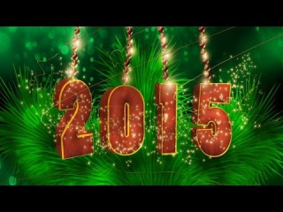 Новогоднее поздравительное видео. С Новым 2015 Годом!