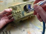 How to paint and weather a tank modelTumpeter 135 E-50