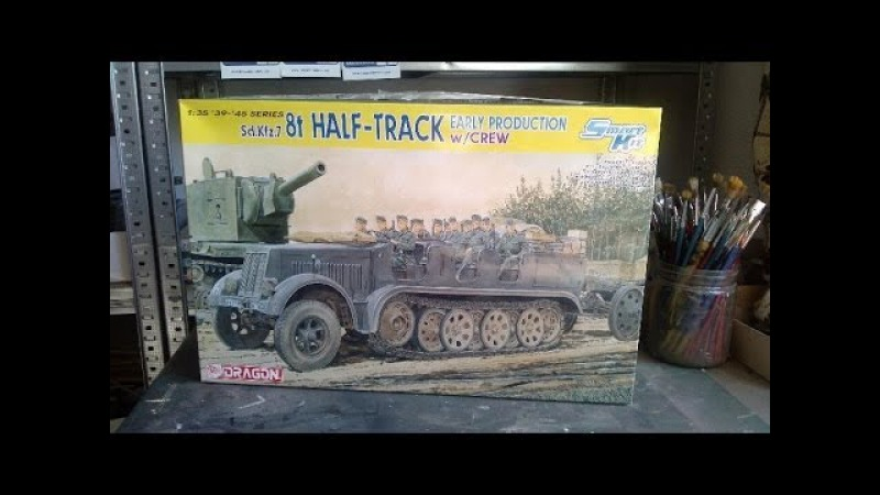 Kit review Dragon 7 8ton halftrack in 1 35 scale