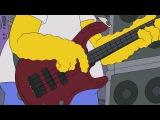 Гомер играет на гитаре
