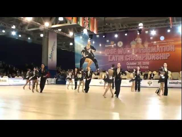 Формейшн ансамбль бального танца