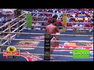 Khmer Thai Boxing, Meas Phearom Vs Prom Samnang 17 May 2017