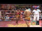 Khmer Thai Boxing, Chhean Hong Vs Sett Serplam Jit (Thai) 17 May 2015.mp4