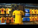 La 2a equipación del FC Barcelona para la temporada 2015/16, a la venta