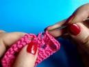 Вязание крючком Урок 225 Ромб crochet rhombus diamond motif