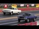 Rare 428 Cobra Jet Mustang vs Impala SS 409 425 HP 1 4 Mile Drag Race Road Test TV ®