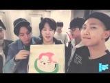 {151012} BTS Live on V App: JIMIN's Birthday (ENG SUB)