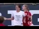 Женский футбол что она творит жесть разборки баб