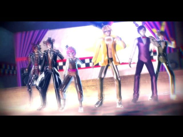 [MMD] Mr. Saxobeat ~ FNAF (Chiko, Kuppy, Freddy, Bonnie, Foxy SpringTrap)