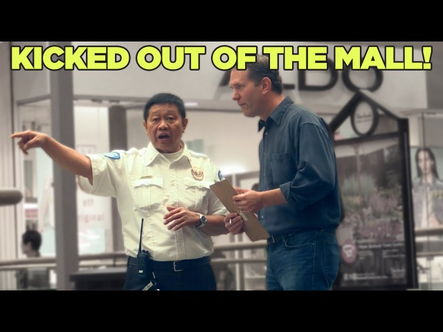 MediocreFilms - KICKED OUT OF THE MALL!