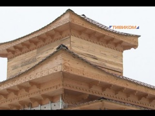 Необычный дуган - строительство визитного центра Святыни Зандан-Жуу в г.Улан-Удэ