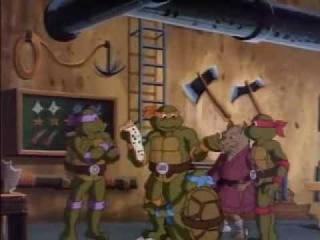 Черепашки мутанты ниндзя 23 серия 3 сезон  Мультсериал