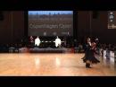 Final Solo Waltz   WDSF PD European Championship 2015