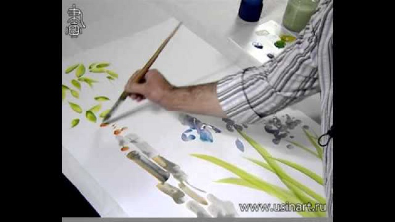 Максим Парнах демонстрирует нам пять приёмов живописи у-син