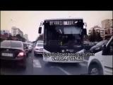 В Азербайджане автобус выехал на встречную полосу. АЗЕРБАЙДЖАН , AZERBAIJAN , AZERBAYCAN , БАКУ, BAKU , BAKI , 2015