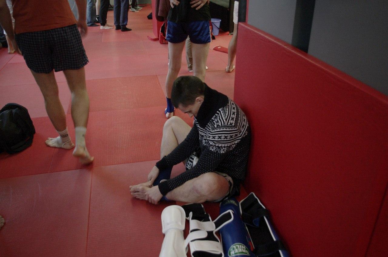 подготовка к соревнованиям по тайскому боксу