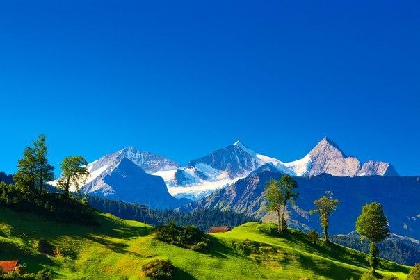 Швейцарские Альпы — свежесть зашкаливает