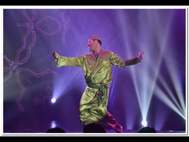 Tito Seif Dances to a Darbuka drum solo by Issam Housham @ BDC closing gala