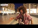 22032014 Iranian musician in Armenia
