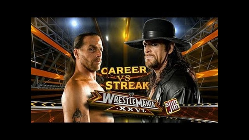 Shawn Michaels VS Undertaker -Wrestlemania 26- Highlights