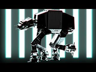 AT-AT star wars free VJ clip by LAAK