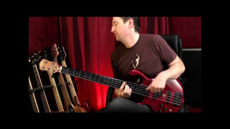 JEFF SCHMIDT - Solo Bass (Fretless) - And I Crumble