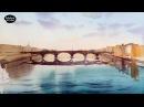 Рисуем акварелью: Городской пейзаж —
