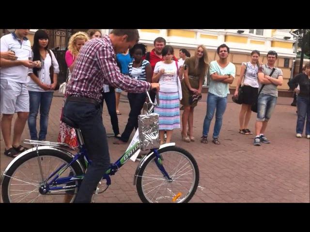 Аттракцион пьяный велосипед
