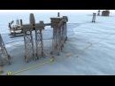 Трехмерная анимация по развертыванию комплекса подводных объектов