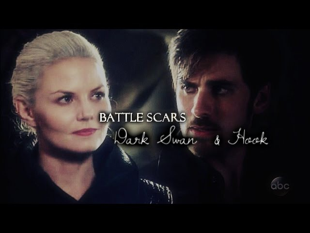 ● dark emma swan killian (hook) | battle scars | S5