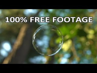 Beachfront B-Roll: Floating Soap Bubble (Free to Use HD Stock Video Footage)