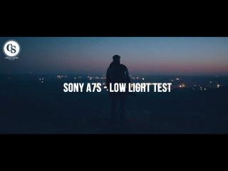 Sony A7's - Low light test