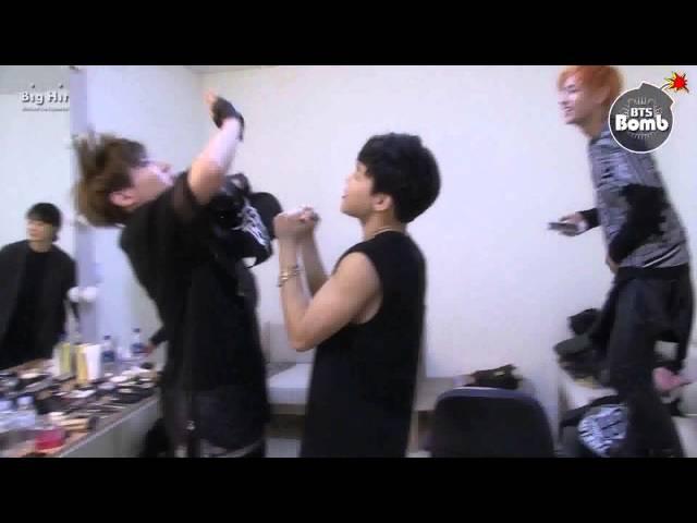 BTS dancing to big bang