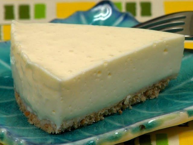 Tofu Rare Cheesecake (No-Bake Cheesecake Recipe) | Cooking with Dog