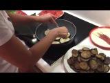 Как пожарить баклажаны без масла / баклажаны на зиму