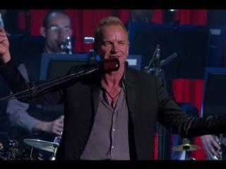 Sting-'Desert Rose'-Финальная вещь концерта и Sting поет и за себя и за Cheb Mami,на арабском.Метанойя.