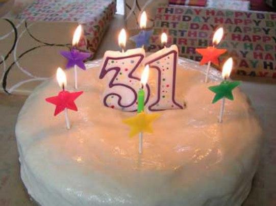 Поздравление день рождение 31 год 18