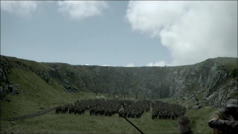 Сериал Викинги (сцены с метанием копья,топора и ножей)