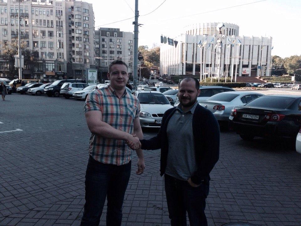 Сегодня весь день в Киеве.