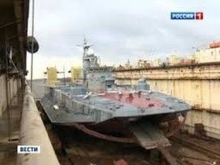 2014 Новости дня - Калининград. Самый известный десантный корабль встал в ремонт