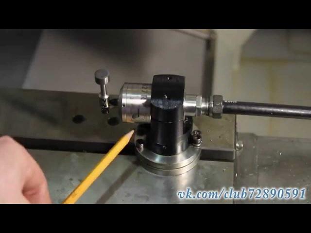 Калибровка и работа с Renishaw TS27R на фрезерном ОЦ