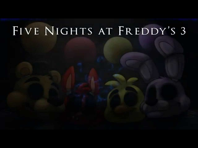 [Rus sub] Balloons Шарики - Five Nights at Freddys 3 Song | by MandoPony [перевод]